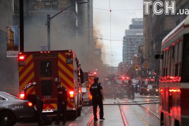 В Торонто прогремел взрыв