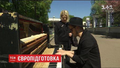 Иностранные участники Евровидения рекламируют себя для украинской аудитории