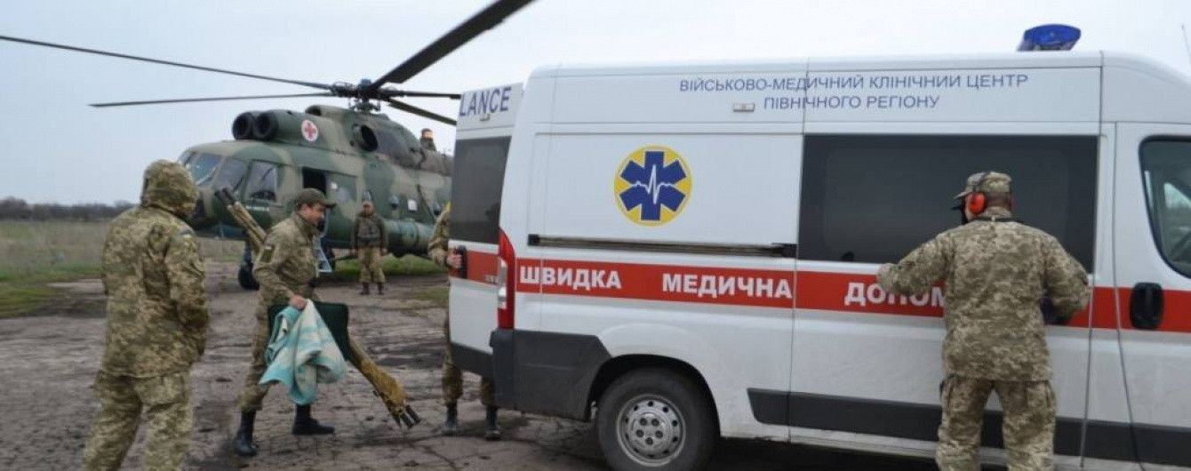 Женщина-военнослужащая получила тяжелые травмы на Донбассе - Минобороны