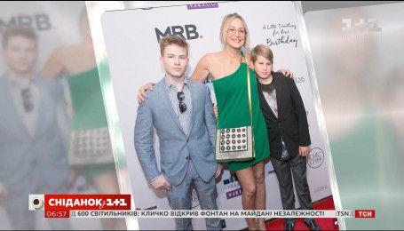 Шерон Стоун прийшла на прем'єру фільму в компанії синів