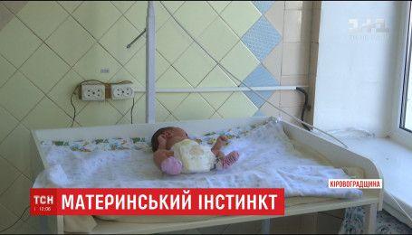 На Кіровоградщині на ґанку магазина знайшли новонароджену дівчинку
