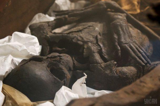 В Киеве показали древние египетские мумии