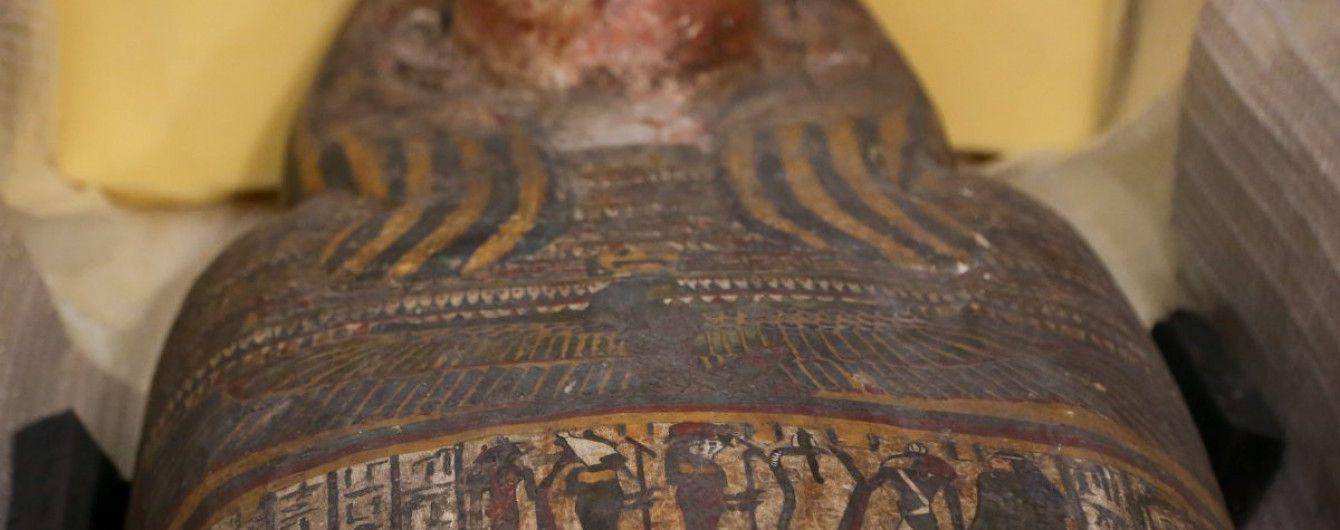 Найденные в Киеве египетские мумии на один день выставят для просмотра перед реставрацией