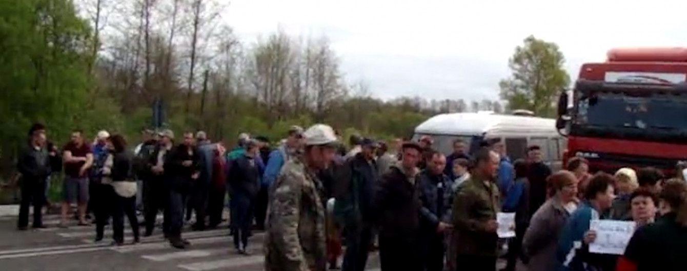 На Волыни протестующие вновь вышли на дороги