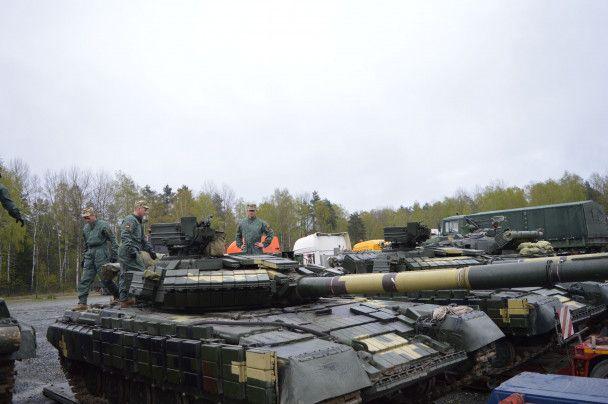 Украинские танки в Германии: Минобороны показало фото и видео подготовки к соревнованиям