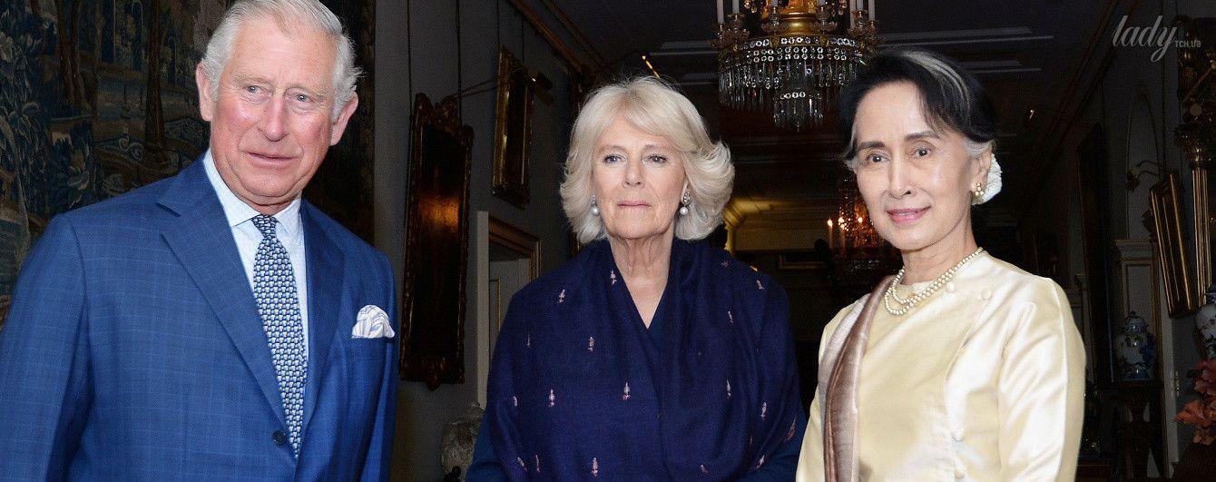Герцогиня Корнуольская Камилла продемонстрировала скромный образ