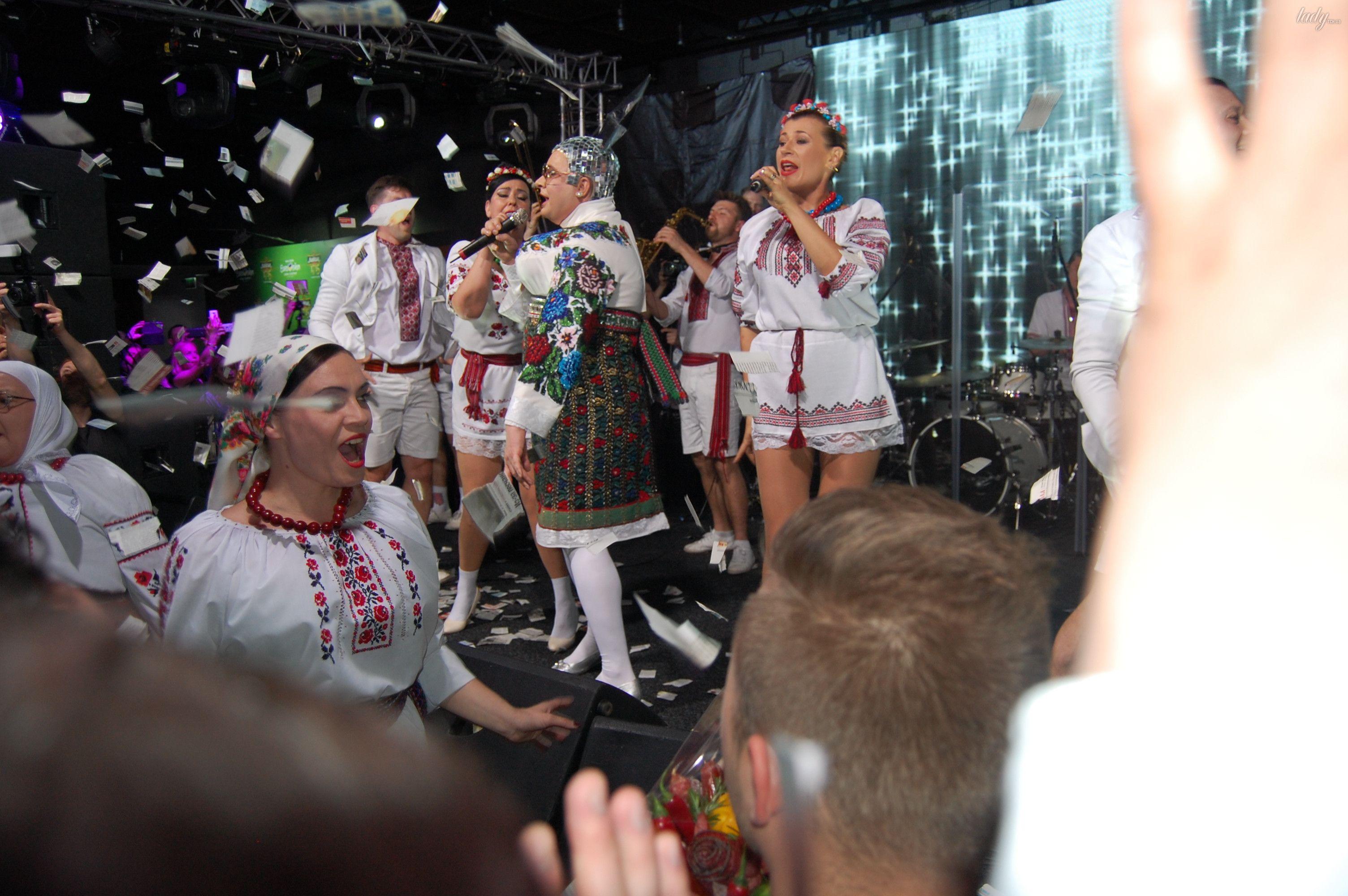 Верка Сердючка на вечеринке в EuroClub_2
