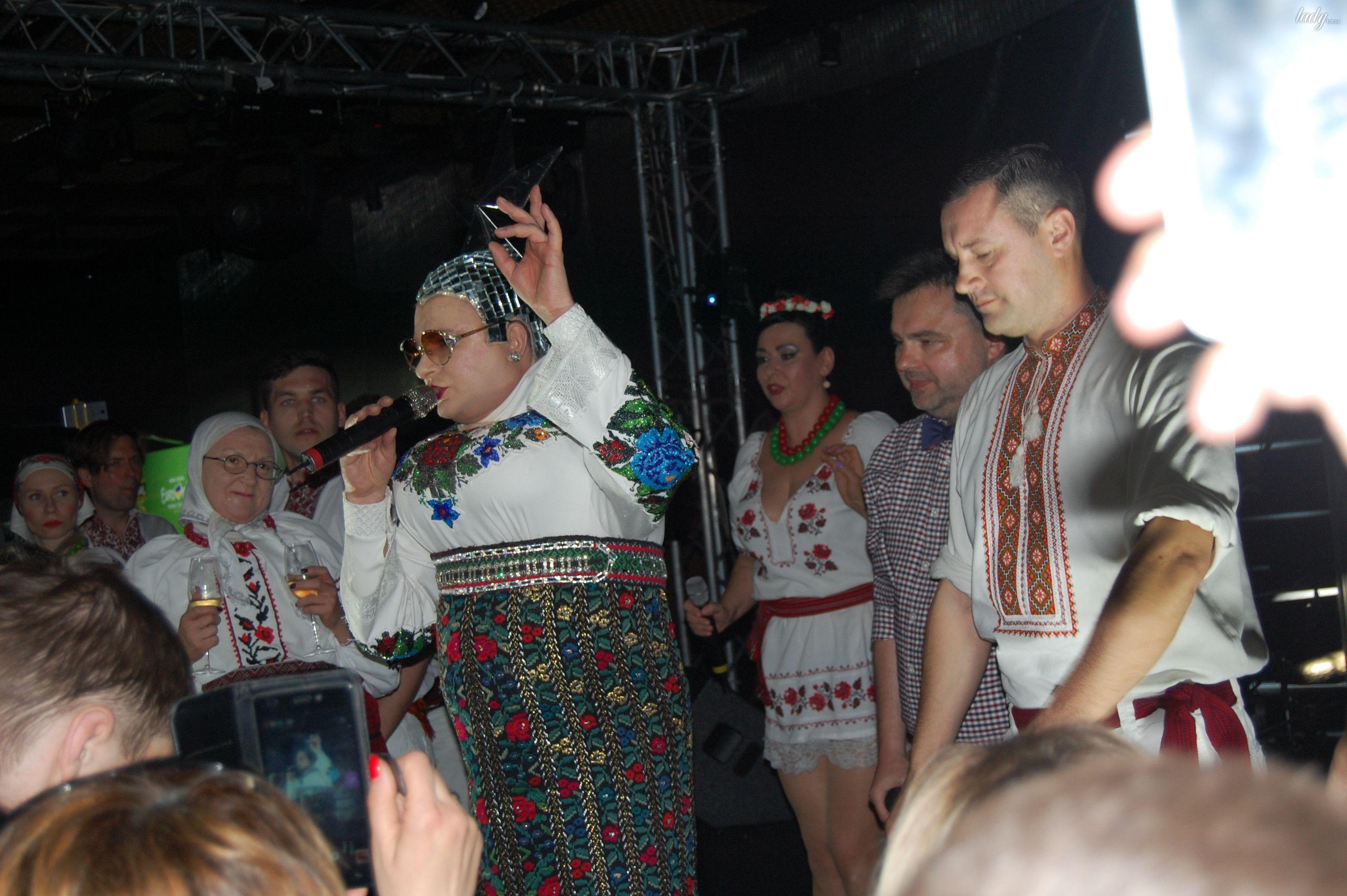 Верка Сердючка на вечеринке в EuroClub_7