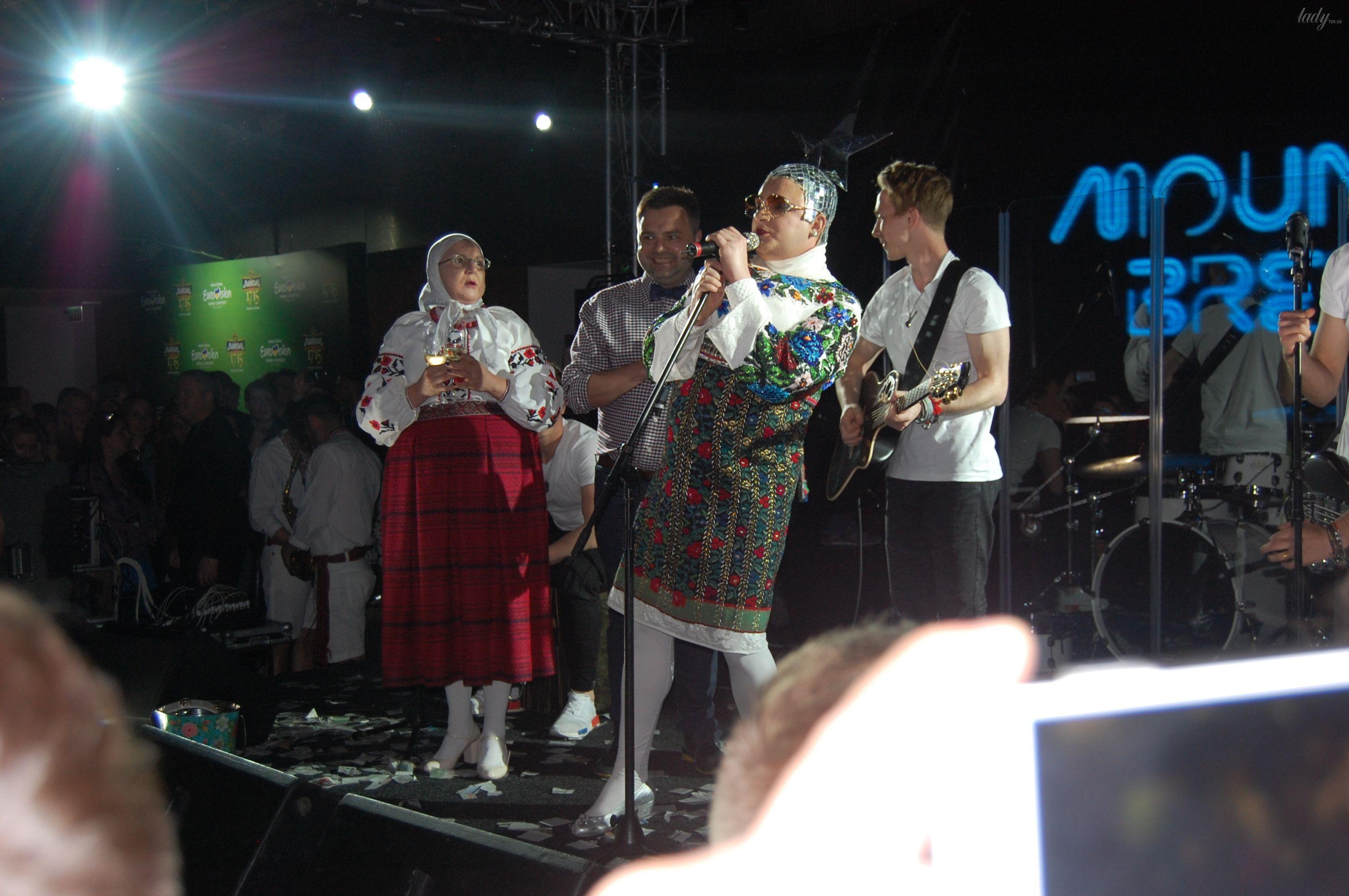 Верка Сердючка на вечеринке в EuroClub_6