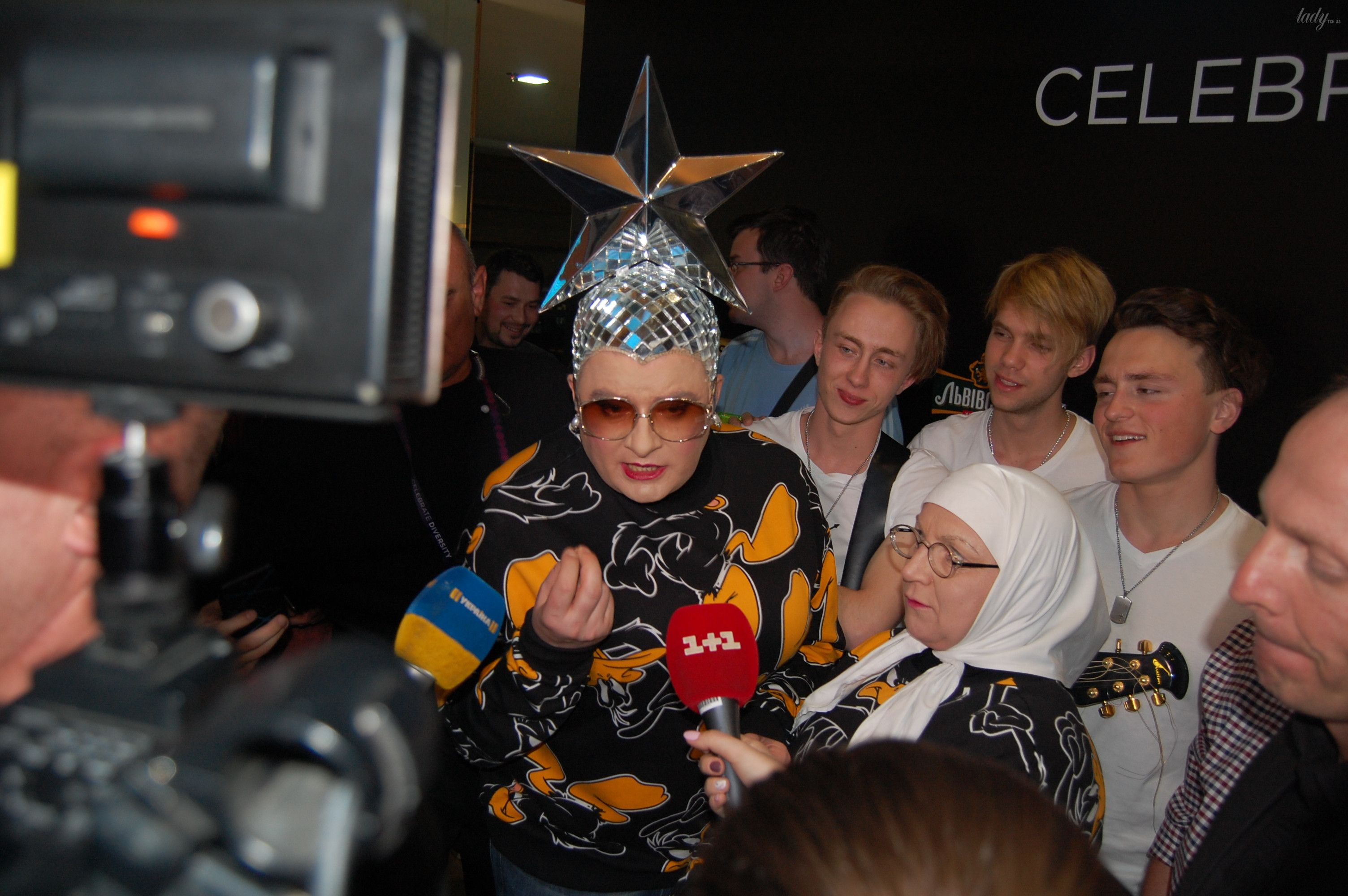 Верка Сердючка на вечеринке в EuroClub_9