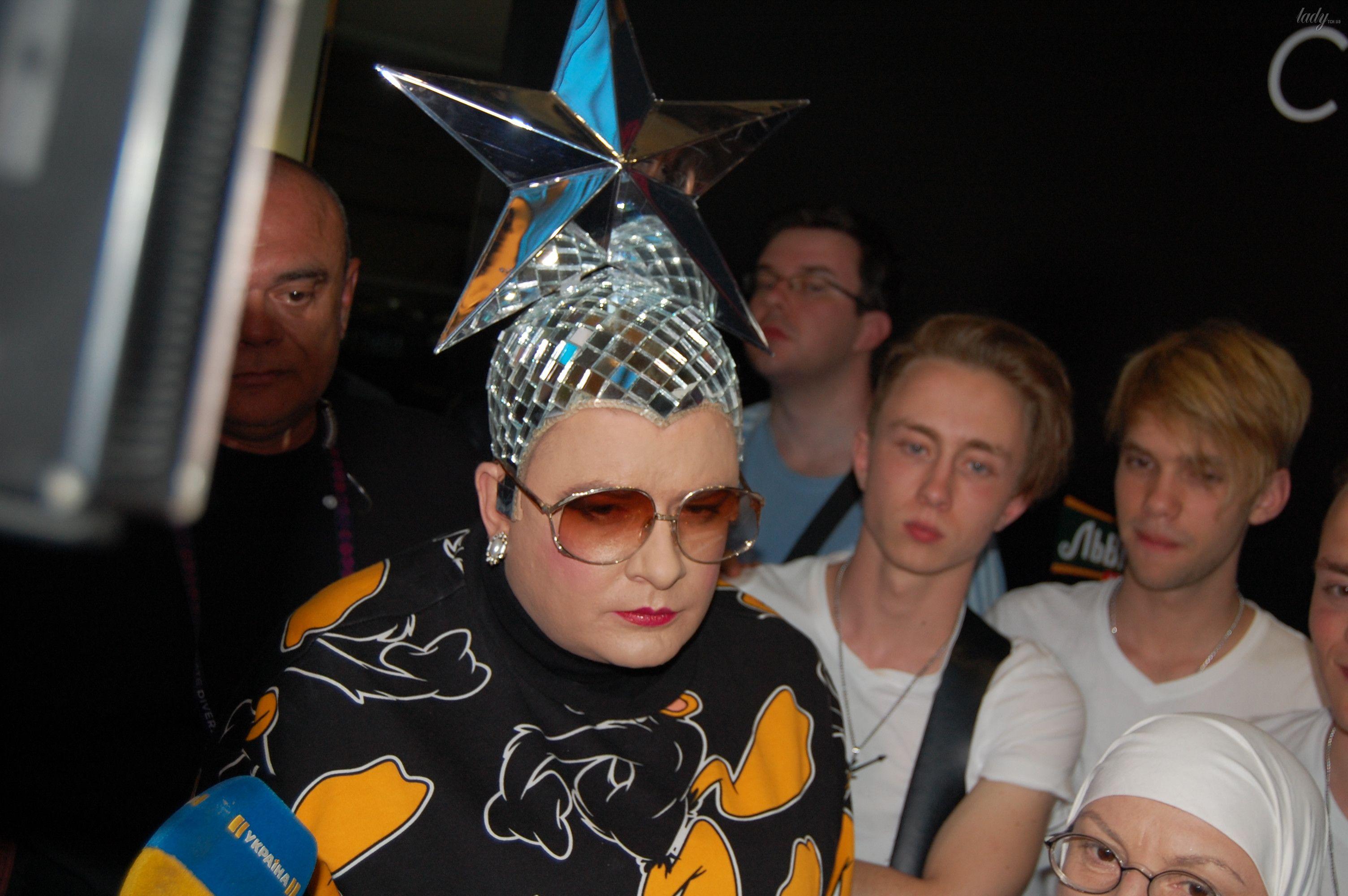 Верка Сердючка на вечеринке в EuroClub_12