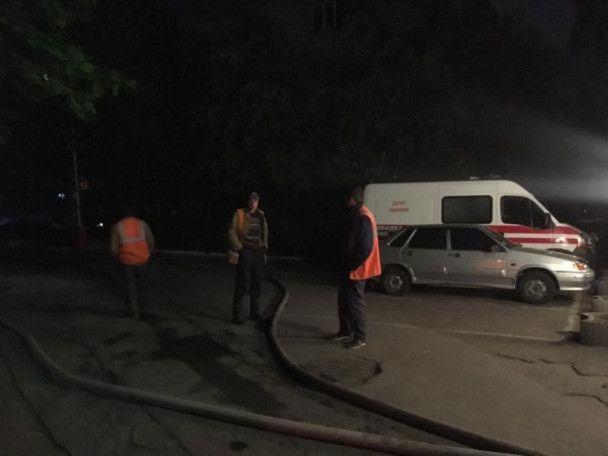 В Киеве загорелся Лукьяновский СИЗО