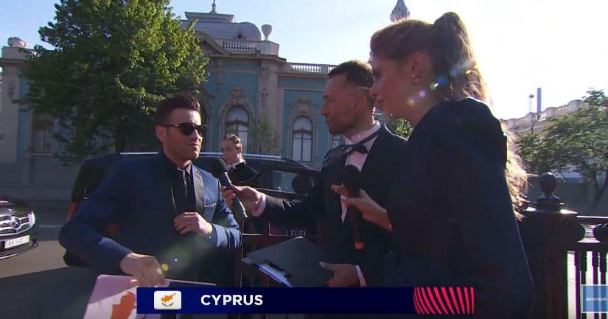 """Гости красной дорожки """"Евровидения-2017"""" @ YouTube"""