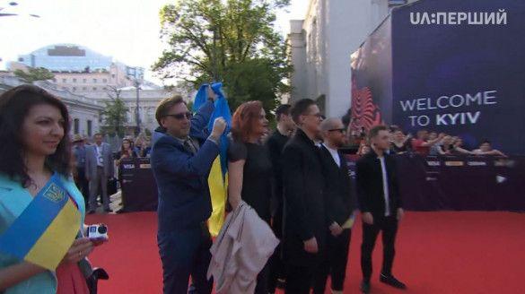 """O.Torvald червона доріжка """"Євробачення-2017""""_3"""