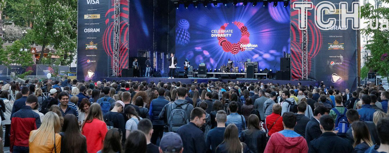"""""""Євробачення"""" в Києві: де розташовані фан-зони й де зробити тематичні селфі"""