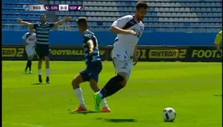 Олімпік - Чорноморець - 1:0. Відео-огляд матчу