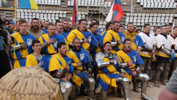 Украинская сборная победила на мировых соревнованиях по историческому средневековому бою