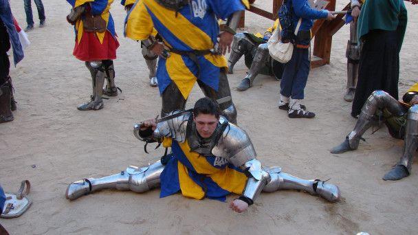 Українська збірна перемогла на світових змаганнях з історичного середньовічного бою