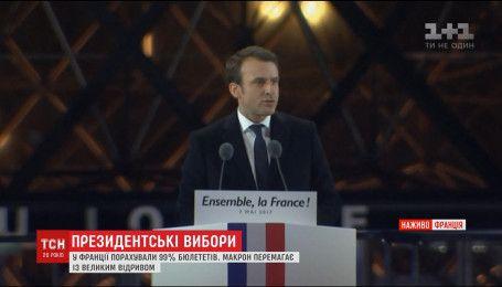 Эмануэль Макрона стал новым президентом Франции