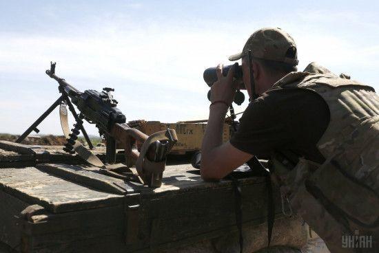 """""""Третья сила"""" уничтожила пулеметную точку боевиков на Светлодарской дуге - волонтер"""