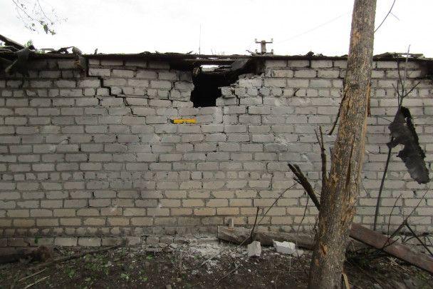 Боевики накрыли огнем из минометов Попасную
