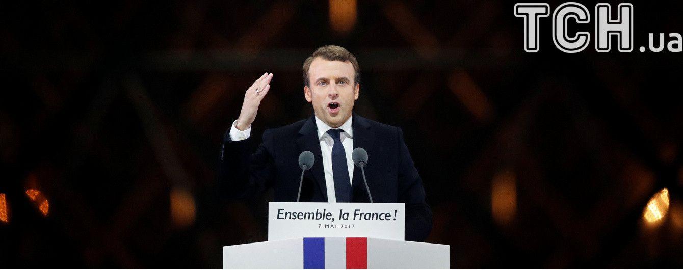 Во Франции посчитали все 100% голосов на выборах президента