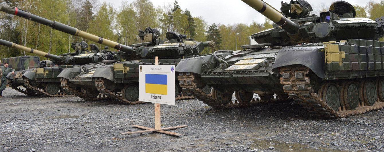 Украинские танкисты принимают участие в танковых соревнованиях в Германии