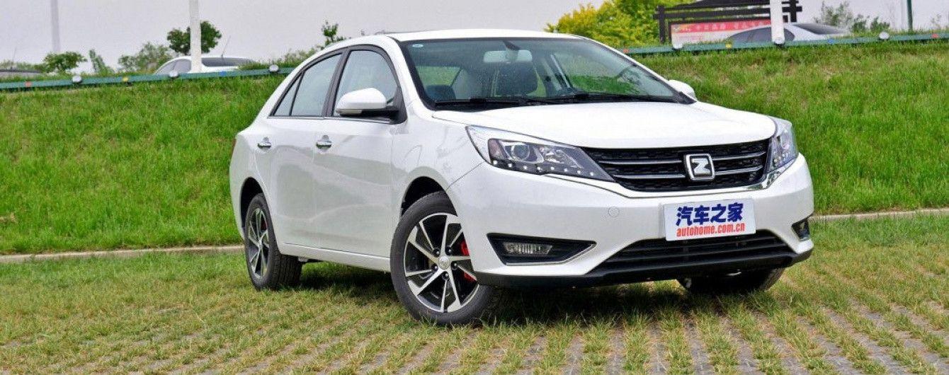 На китайский рынок выходит новый седан Zotye Z360