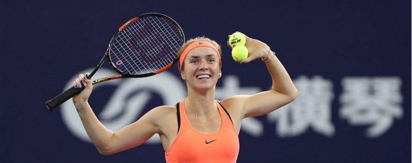 Украинская теннисистка Свитолина вернулась в топ-10 мирового рейтинга