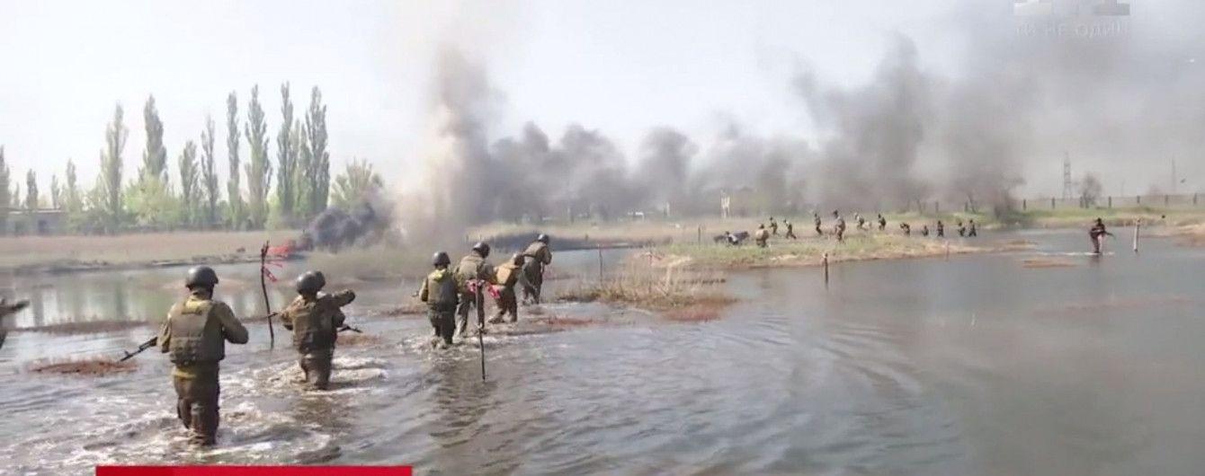 Элита войска: украинские морпехи сдали экзамен на черные береты