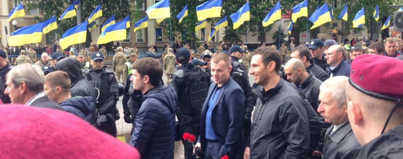 В Киеве задержали людей из-за георгиевских лент