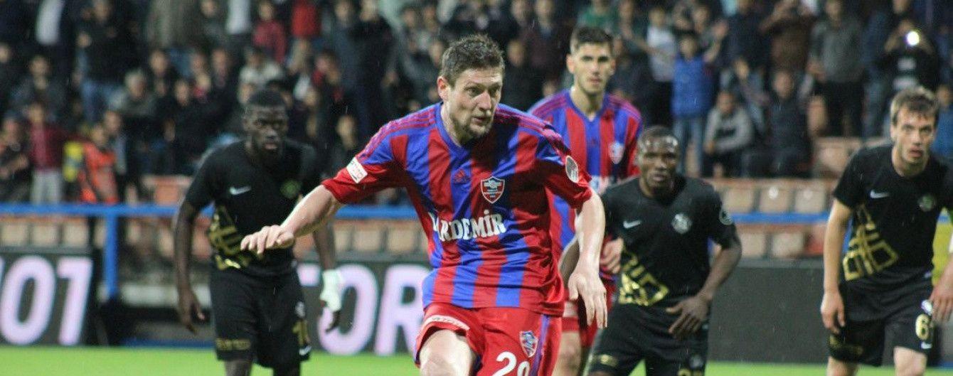 Селезньов забив п'ятий гол у чемпіонаті Туреччини