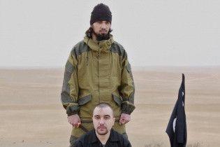 """Терористи """"ІД"""" заявили про страту російського офіцера"""