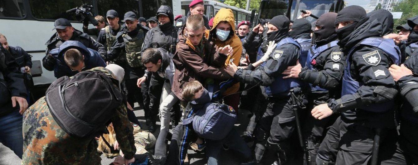 День победы над нацизмом в Украине: правоохранители задержали 45 человек