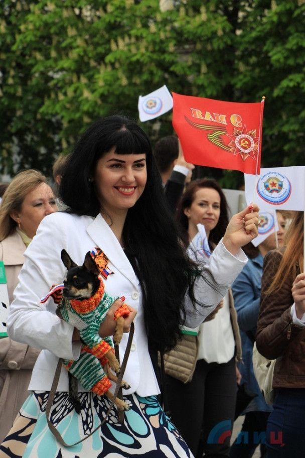 Захарченко с портретом Моторолы и Плотницкий на Уазике. Как в ОРДЛО праздновали 9 мая
