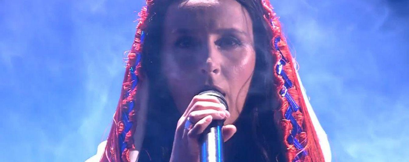 """""""Шаманка""""-Джамала сорвала аплодисменты ярким номером в первом полуфинале """"Евровидения-2017"""""""