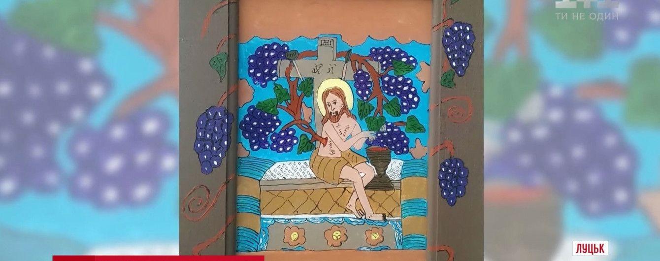 В Италии выбрали для церкви икону, нарисованную воином АТО