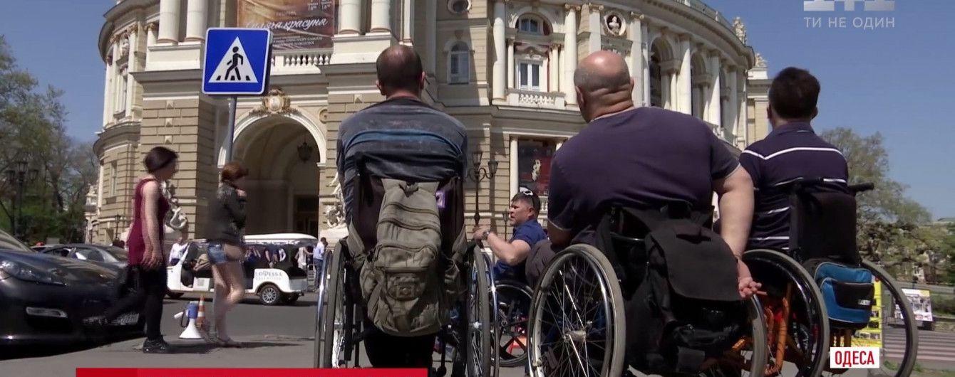 В Одессе гид на коляске разработал уникальный туристический маршрут по городу