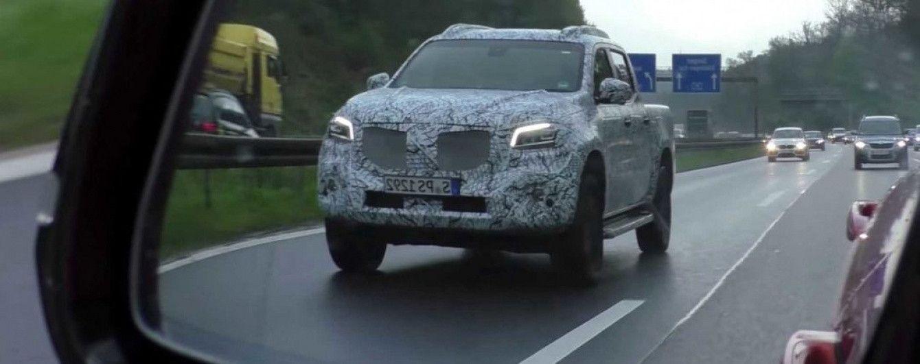 В Германии был замечен прототип серийного пикапа Mercedes-Benz X-Class