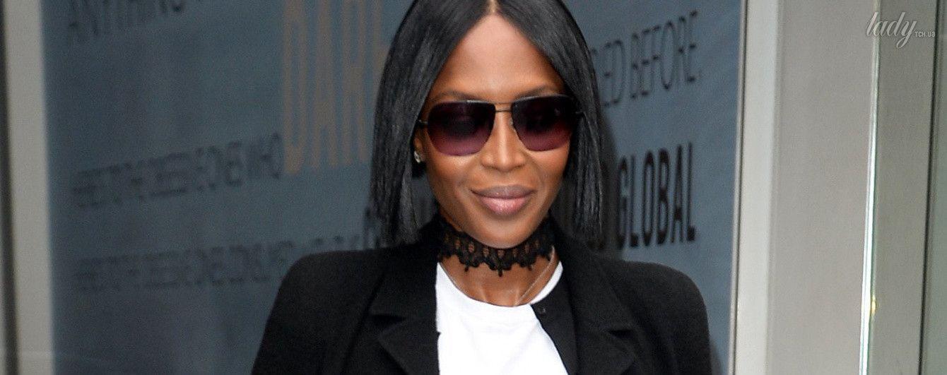 Звезды в обычной жизни: стильная Наоми Кэмпбелл в Лондоне