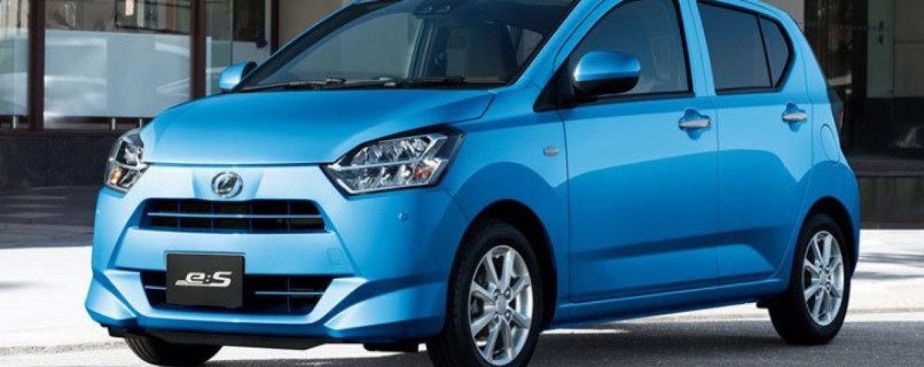 Daihatsu вывела на рынок новое поколение Mira e:S