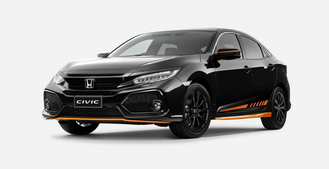 Honda Civic Orange Edition