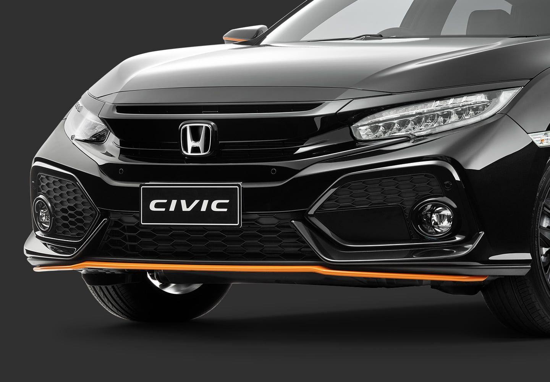 Honda Civic Orange Edition