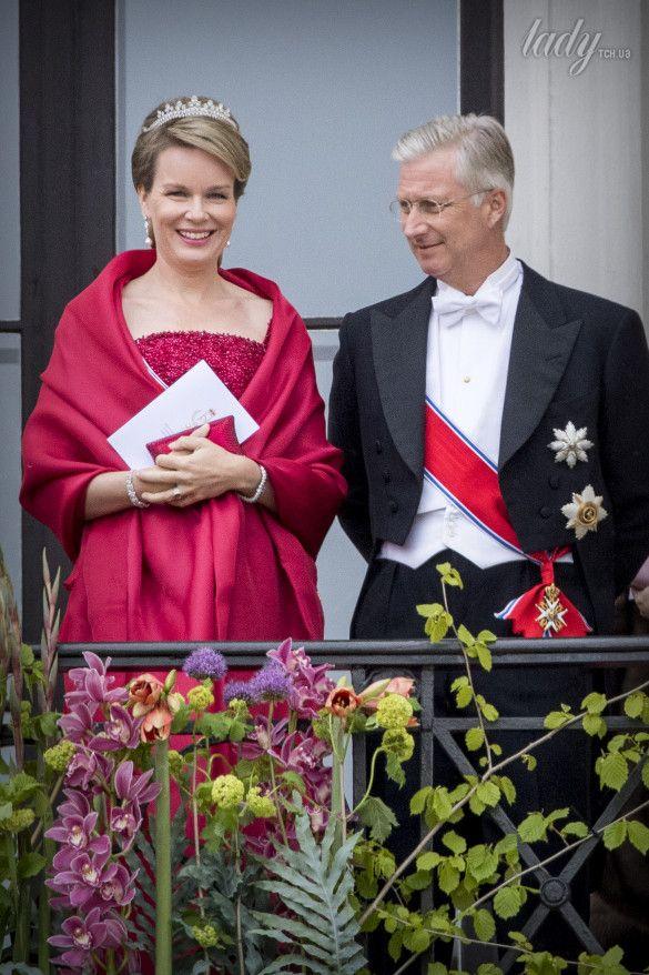 Бельгийский король Филипп и королева Матильда_1