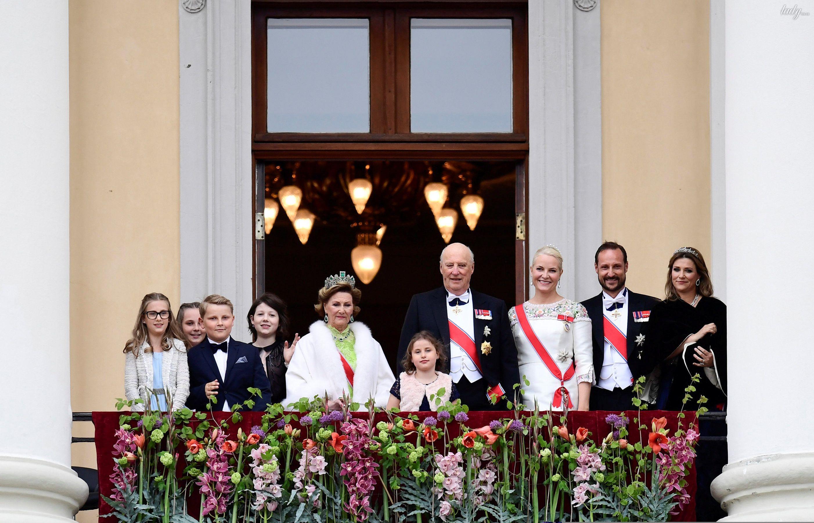 Празднования 80-летие короля Харальда и королевы Норвегии Сони _2