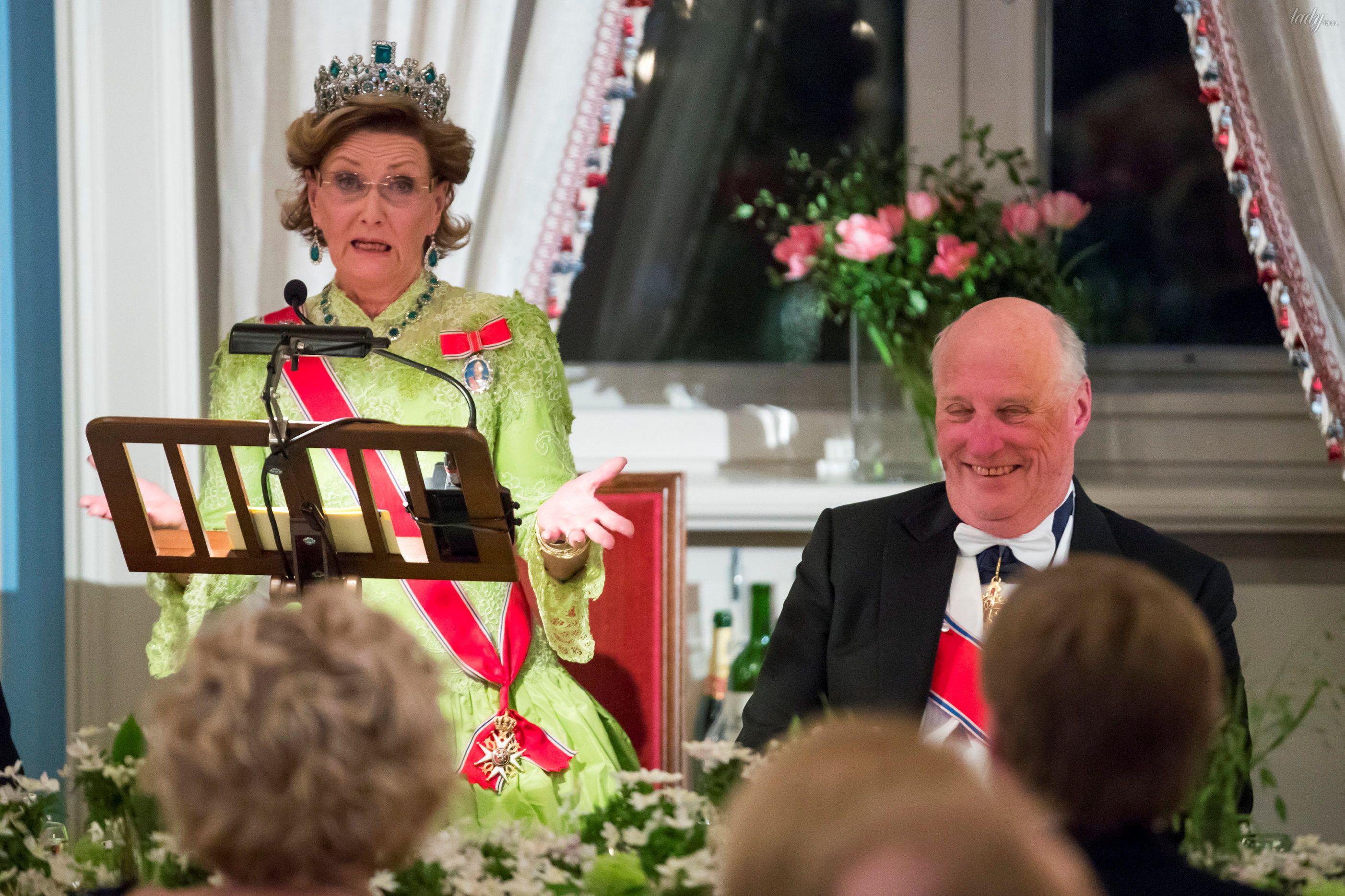 Празднования 80-летие короля Харальда и королевы Норвегии Сони _4