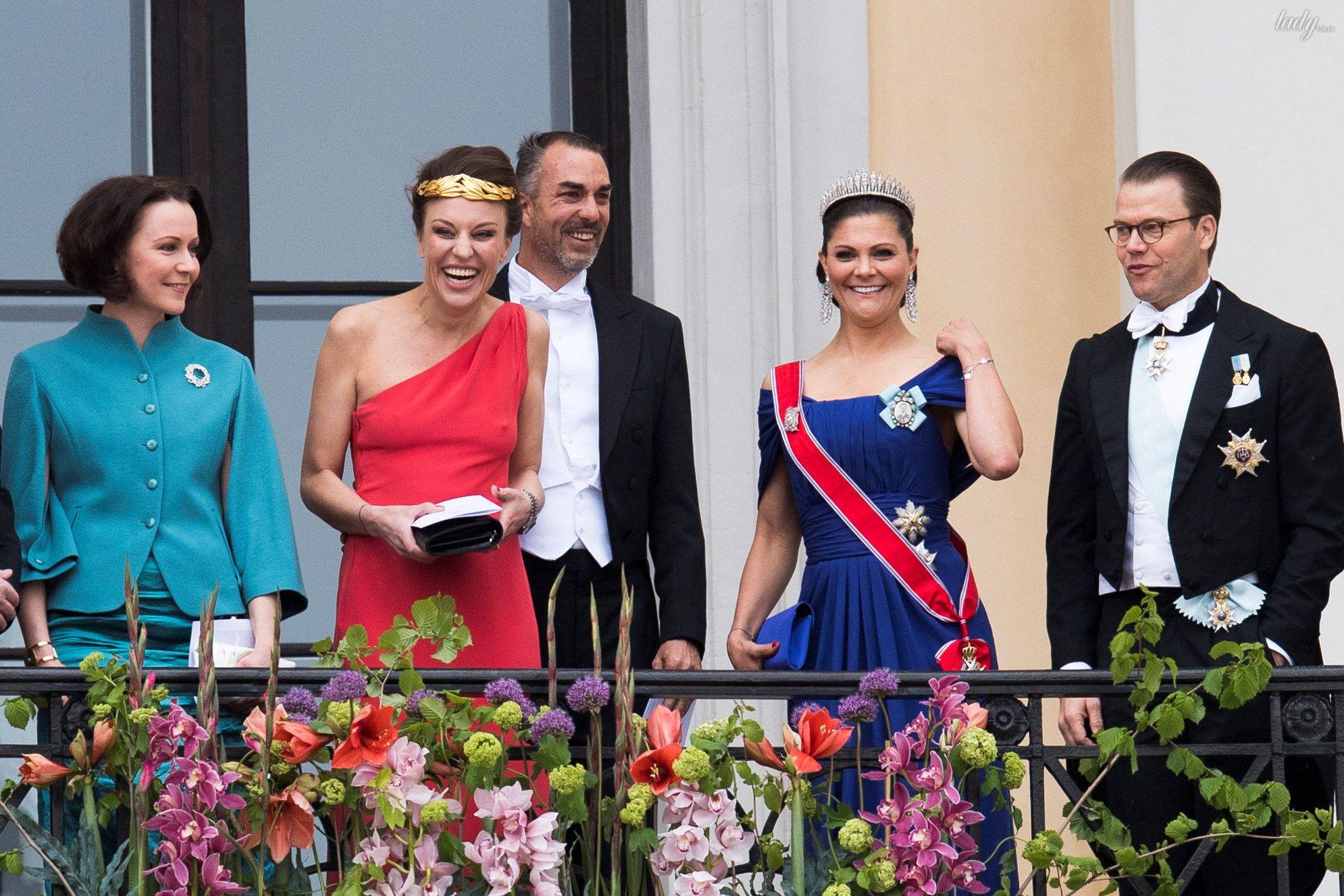 Празднование 80-летия короля Харальда и королевы Норвегии Сони _3