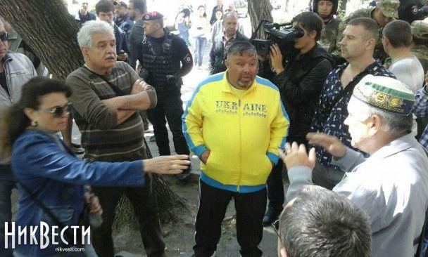 В Николаеве афганцы и ветераны АТО два дня подряд устраивают потасовки