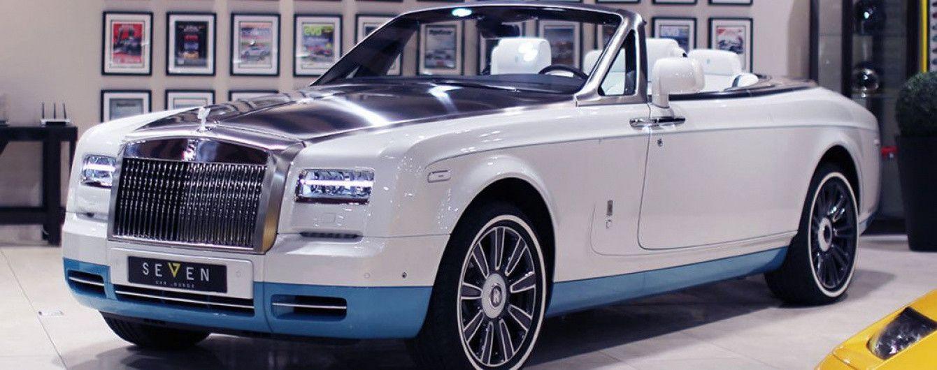 Последний кабриолет Rolls-Royce Phantom выставлен на продажу