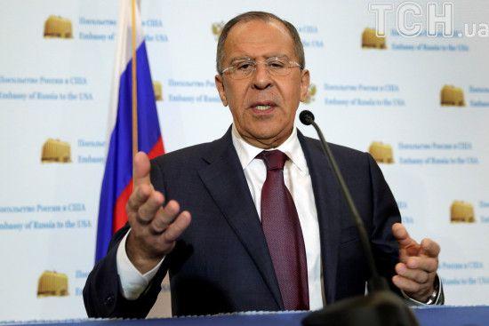 Лавров відреагував на збиття винищувачем США сирійського літака